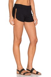 Beach Bunny Tribal Theory Short Cover Up Black