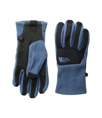 The North Face Women's Denali Etip Glove Shady Blue Tnf Black Extreme Cold Weather Gloves