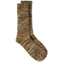 Anonymous Ism 5 Colour Mix Sock Green