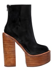 Jeffrey Campbell 150Mm Mulder Brushed Leather Boots