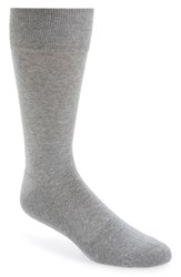 Men's Nordstrom 'Cushion Foot Arch Support' Socks Grey 3 For 30 Mid Grey Heather