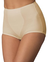 Bali Plus Light Panel Briefs Two Pack Two Beige