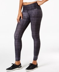 Calvin Klein Performance Printed Leggings Black