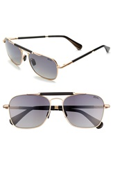 Zeal Optics 'Draper' 55Mm Polarized Plant Based Sunglasses Draper Matte Gold
