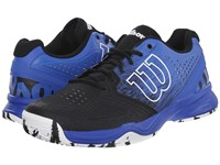 Wilson Kaos Comp Black Blue Iris White Men's Tennis Shoes