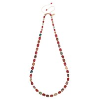 Lola Rose Stacey Necklace Red Quartz Agate