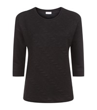 Escada Sport Cable Textured Sweater Female Black