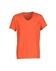 40Weft Topwear T Shirts Men Rust