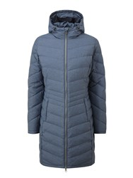 Tog 24 Vienna Womens Longer Length Down Jacket Navy
