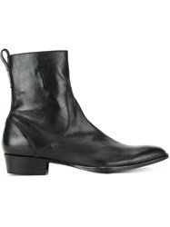 Hl Heddie Lovu Side Zip Ankle Boots Black