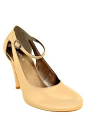 Intaglia Vallio Mary Jane Pump Brown