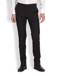 J. Lindeberg Paulie Wool Trousers Navy Black