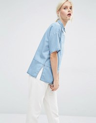 Minimum Niniane Denim Shirt Medium Blue