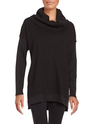 Calvin Klein Cowlneck Knit Sweater Black