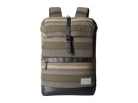 Hex Alliance Backpack Dakota Grey Stripe Backpack Bags Olive