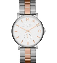 Marc By Marc Jacobs Mbm3312 White Dial Ladies Watch