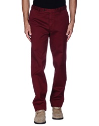 Hackett Casual Pants Maroon