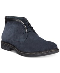 Alfani Gavin Collar Chukka Boots Only At Macy's Men's Shoes Navy