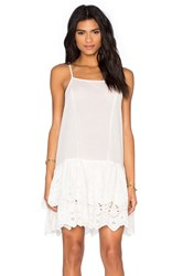 Somedays Lovin Serenade Lace Ra Ra Dress White