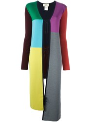 Ports 1961 Long Cardi Coat Multicolour