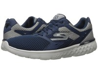 Skechers Go Run 400 Navy Gray Men's Running Shoes Blue