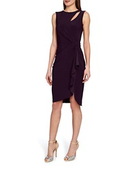Catherine Malandrino Georgia Faux Wrap Dress Passion