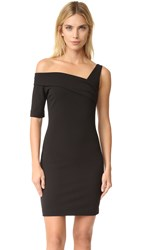 St Olcay Gulsen Asymmetrical Dress Black