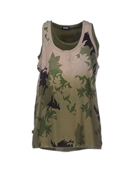 Blauer Topwear Vests Women Military Green