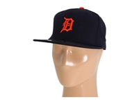 New Era Authentic Collection 59Fifty Detroit Tigers Road Baseball Caps Gray