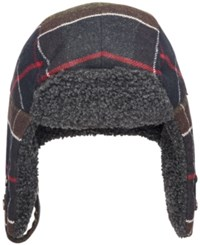 Barbour Sheil Plaid Trapper Hat Classic Tartan