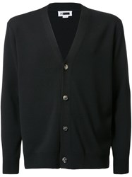 H Beauty And Youth. Dropped Shoulder V Neck Cardigan Black