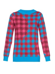House Of Holland Gingham Wool Sweater