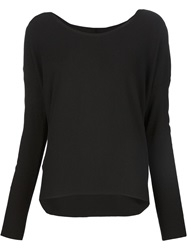 Transit Round Neck Sweater Black