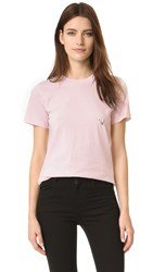 Thierry Mugler T Shirt With Hardware Rose
