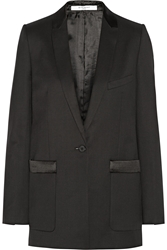 Givenchy Tuxedo Jacket In Wool Twill