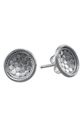 Anna Beck Women's 'Gili' Small Dish Stud Earrings Sterling Silver