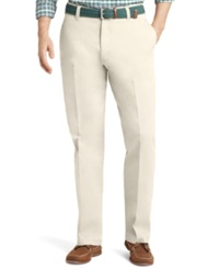 Izod Saltwater Classic Fit Chino Pants Stone