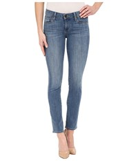 Paige Skyline Ankle Peg In Quill Quill Women's Jeans Tan