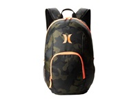 Hurley One Only Backpack Deepest Green Camo Backpack Bags
