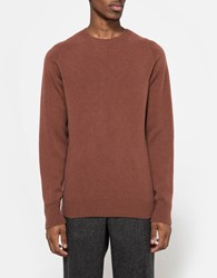 Margaret Howell Saddle Neck Crew Dark Rust