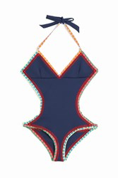Kiini Tasmin Cutout One Piece Navy
