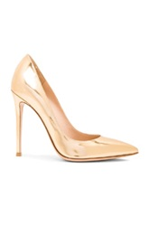 Gianvito Rossi Metallic Leather Pumps In Metallics