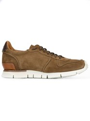 Buttero Lace Up Sneakers Brown