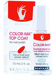 Mavala Color Matt Top Coat 10Ml