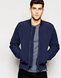 Jack Wills Bomber Jacket In Navy