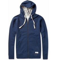 Saturdays Surf Nyc Cotton And Wool Blend Jersey Hoodie Mr Porter
