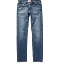 Frame Denim L'homme Washed Denim Jeans Blue
