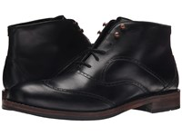 Wolverine Wesley Wingtip Chukka Black Men's Lace Up Boots