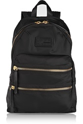 Marc By Marc Jacobs Domo Arigato Leather Trimmed Canvas Backpack