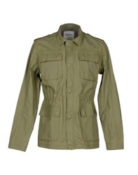 Pepe Jeans Coats And Jackets Jackets Men Military Green